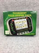 Sharper Image Tournament Texas Hold'Em Poker Electronic Game SEALED
