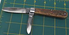 Nice Jigged Bone VOOS USA Barehead Jack Pocket Knife