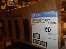 IBM 53P9369 Cyan High Yield Toner Cartridge Genuine OEM Original
