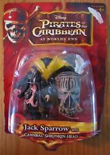 Disney Pirates of the Caribbean JACK SPARROW ACTION FIGURE TOY NEW