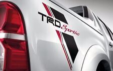 GENUINE TRD SPORTIVO 2014 STICKER FOR TOYOTA HILUX 2014 MODELSET OF 2 LH+RH