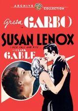 Susan Lenox (Her Fall and Rise) 1931 (DVD) Greta Garbo, Clark Gable - New!