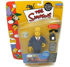 The Simpsons Superintendent Chalmers Interactive World of Springfield Series 10