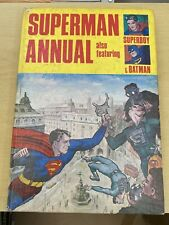 Superman Annual 1968 - Featuring Batman and Superboy - Unclipped