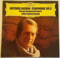 Dvorak Symphony No. 8 Carlo Maria Giulini DGG Stereo 2531 046