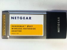 NetGear Wn511B Rangemax Next Wireless Notebook Adapter 3.3V Pcmcia Laptop Card