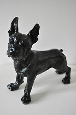 Französische Bulldogge, 35 cm x 32 cm groß Designer Deko, Figur