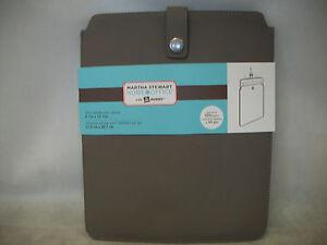 "Martha Stewart Home Office Avery 10"" Tablet Slim Sleeve - Walnut 8-1/2 x 10-1/2"
