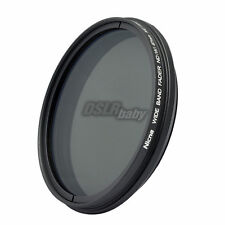 Nicna 58mm Fader ND Filter ND2 to ND400 ND4 ND8 ND100 Wide Angle Adjustable 58