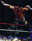 WWE WWWF Jimmy Jimmie Superfly Super Fly Snuka signed auto 8 x by 10 photo coa