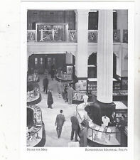 """*Postcard-""""The Store For Men"""" -1950's-  *Remembering Marshall Field's (#128)"""