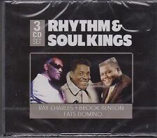 RHYTHM & SOUL KINGS - VARIOUS on 3 CD's -  NEW -