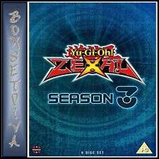 YU-GI-OH! ZEXAL: SEASON 3 COMPLETE COLLECTION (EPISODES 99 - 144) BRAND NEW DVD