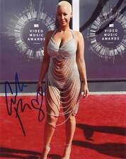 Amber Rose In-person AUTHENTIC Autographed Photo COA SHA #82580
