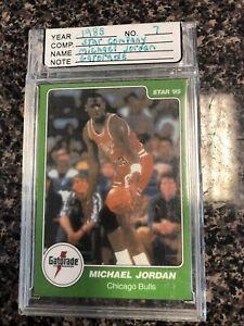 Michael Jordan 1985 Star Rookie Gatorade Slam Dunk # 7 Rc