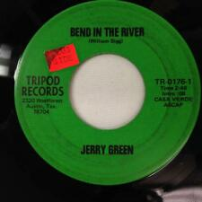 JERRY GREEN 45:Bend In The River / Why Did,Tripod Records 0176,Austin Texas RARE