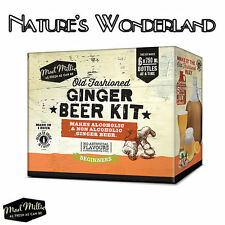 Old Fashioned GINGER BEER Starter Kit -Brew perfect alcoholic or non -Mad Millie