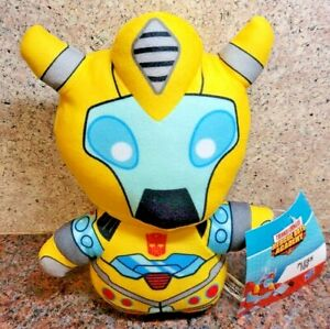 NEW Transformers Rescue Bots Academy Bumblebee Plush Toy Doll Figure Hasbro Cute