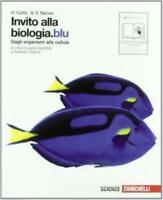 invito alla biologia.blu, Zanichelli scuola, Curtis/Barnes cod:9788808134653