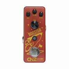 CNZ Audio Analog Booster Guitar Effects Pedal, True Bypass