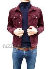 Cappotti e giacche da uomo rossi con colletto