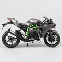 1/12 Scale Kawasaki Ninja H2 racing H2R diecast motorcycle Moto model bike toys