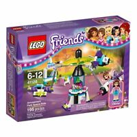 Lego Friends 41128 AMUSEMENT PARK Space ride photo booth Ice cream stand Olivia