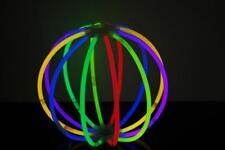 Set of 6 Assorted Glow Stick Balls - 72 glow sticks + 12 ball connectors