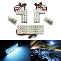 118-SMD 5 pcs Exact Fit LED Panels Bulbs Interior Light Package For Honda Acura