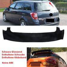 Fit Für Opel Astra H 2005-2010 Dachspoiler Heckflügel Heckspoiler Tuning Schwarz
