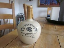 EXCELLENT CONDITION STONEWARE ADVERTISING 'BON TON' WHISKY JUG LONDON