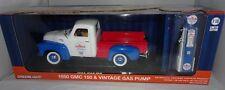 """Gmc 150 pick-up 1950 """"chevron"""" con bomba de gasolina coche modelo 1 18 /"""