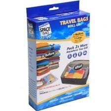 Original Space Bag Vacuum Storage Bags (1L & 1M) 2 Travel Bags Brand New