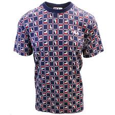FILA Men's Navy Cube S/S T-Shirt (S06B)