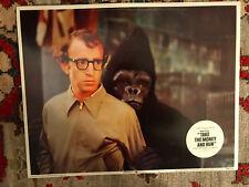 Take The Money And Run 1969 Palomar lobby card Woody Allen Gorilla