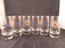 STUNNING x6 HUICHOL DE JALISCO TEQUILA SHOT GLASSES