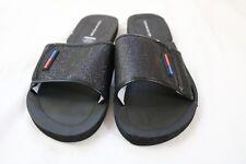 4af6289be Tommy Hilfiger Slide Sandals Black 8 M or 9 M Womens Multi-Texture