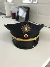 Immaculate German police Berlin senior officers cap 59cm