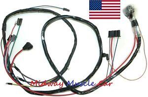engine wiring  harness V8 67 Buick Gran Sport Skylark GS Special 300 340 400