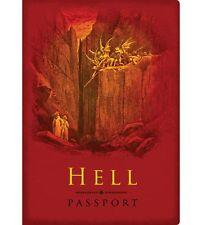 Hell Passport Pocket Notebook Religion Joke Underworld Ticket to Hell