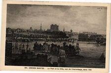 CPA  Ancien Nantes -Le Port et la Ville, vus de l'Hermitage vers 1780 (223228)