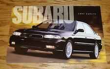 Original 1997 Subaru Full Line Sales Brochure 97 SVX Legacy Impreza Outback