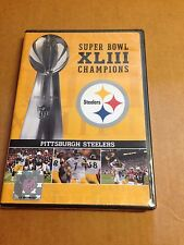 Sealed SUPER BOWL XLIII CHAMPIONS PITTSBURGH STEELERS  DVD