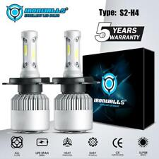 IRONWALLS H4 9003 LED Headlight Bulb Kit for Toyota Yaris 2006-2018 Hi-Lo Beam