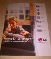 LG Home Entertainment TV Product Catalogue Brochure Book Volume 8   2000