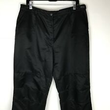 Brax Feel Good Womens PLUS sz EU 46 US 18R Black Polyester Pants Outdoor Casual