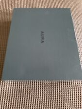 """AURA AF200-WHT Mason 9"""" Digital Picture Frame - White Quartz New"""