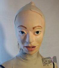 Emma Latex Doll Mask (Kigurumi, Female, RubberDoll, Sissy, Cosplay, Halloween)