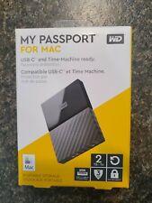 Western Digital WDBLPG0020BBK-WESE My Passport 2TB Portable External Hard...