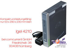 MINI-PC THIN CLIENT IGEL 5/4 4210lx DVI + VGA PCI operativo SSC. AUTO 12v tc17 possibile